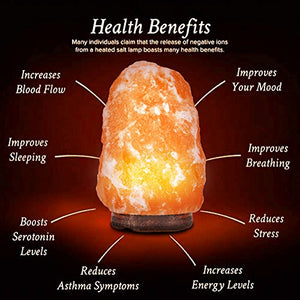 Lumina Natural Himalayan Salt Rock Lamp | Monthly Madness