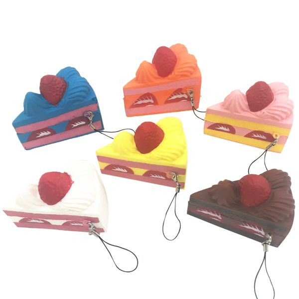Gigglebread Scented Squishy Cake Slice - Set of 6 | Monthly Madness