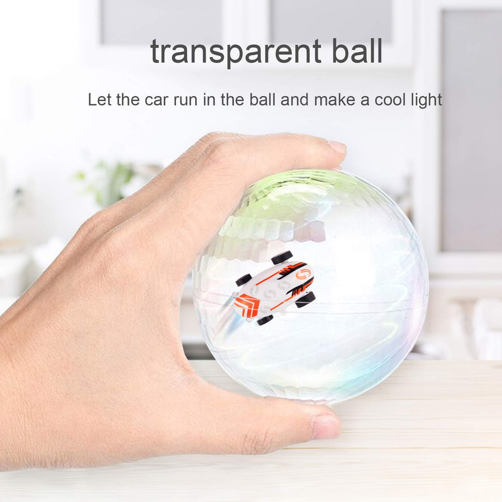 LED Keychain Micro Racer with Transparent Light Up Ball | Monthly Madness