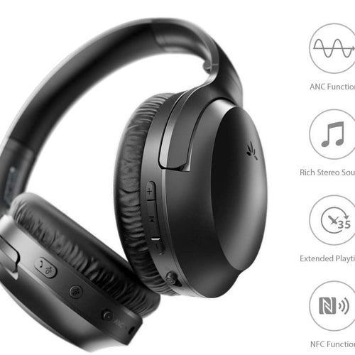Avantree Aria Bluetooth Headphones with Active Noise Cancelling