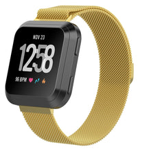 Load image into Gallery viewer, Linxure Milanese Fitbit Versa Strap - Small | Monthly Madness