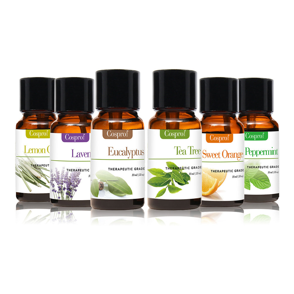 Cosprof Aromatherapy Essential Oils - Set of 6 | Monthly Madness