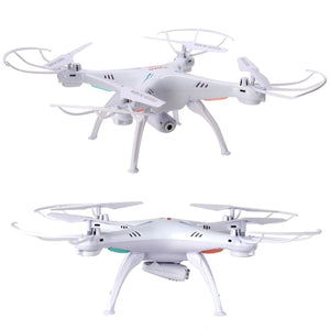 Syma X5SW Quadcopter Drone with Camera White | Monthly Madness