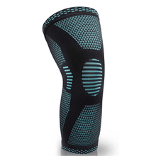 Load image into Gallery viewer, Athleum Sports Knee Support Compression Sleeve - Blue