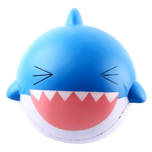 Gigglebread Jumbo Squishy - Shark Blue | Monthly Madness
