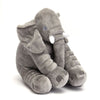 Stuffed Elephant Plush Pillow - Grey | Monthly Madness