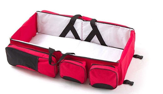 Tinytots 3-in-1 Multi-Function Travel Nappy Bag