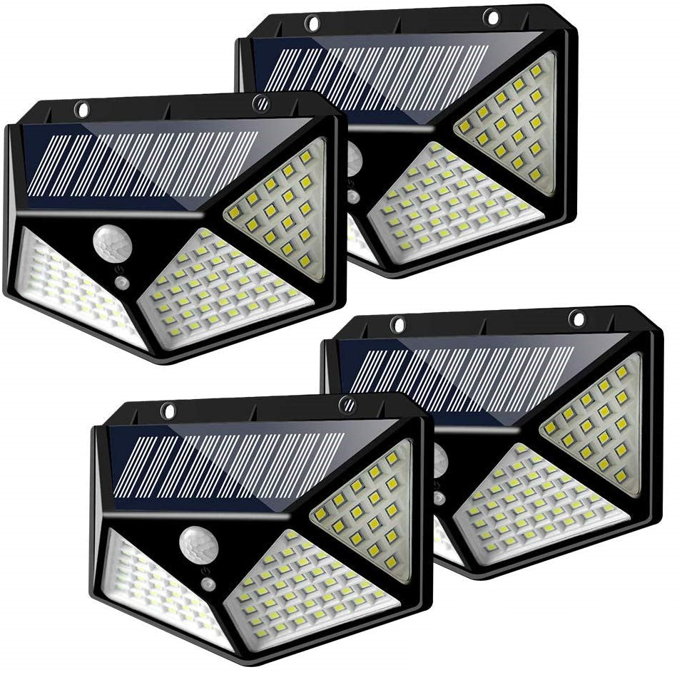 Lumina 100 LED Solar Powered Motion Sensor Lights | Monthly Madness