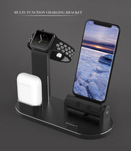 Load image into Gallery viewer, Ntech 3 in 1 Charging Dock Station for Apple Watch Airpods and iPhone | Monthly Madness