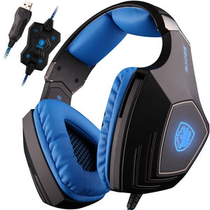SADES A60 Gaming Headphones with Microphone for PC & MAC - Black | Monthly Madness