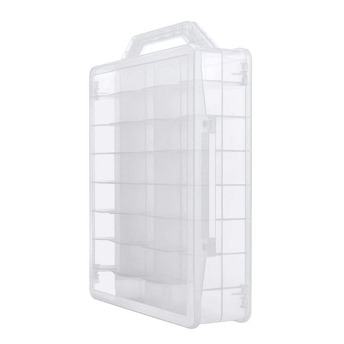 ABC Makeup Clear Nail Polish Organizer Holder for 48 Bottles