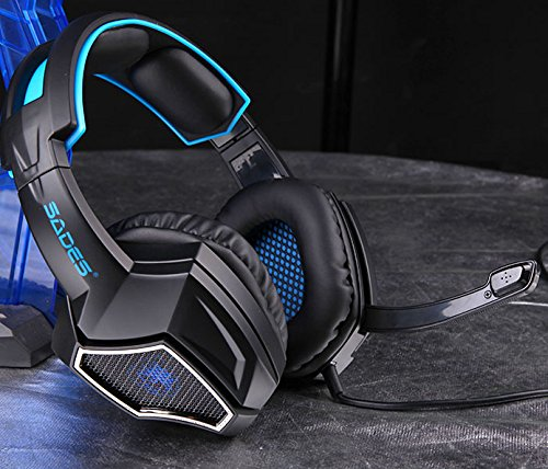 Sades Spirit Wolf Gaming Headphones with Microphone | Monthly Madness