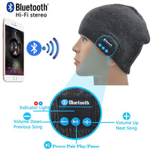 Load image into Gallery viewer, Soundtronic Built-in Bluetooth Stereo Beanie | Monthly Madness