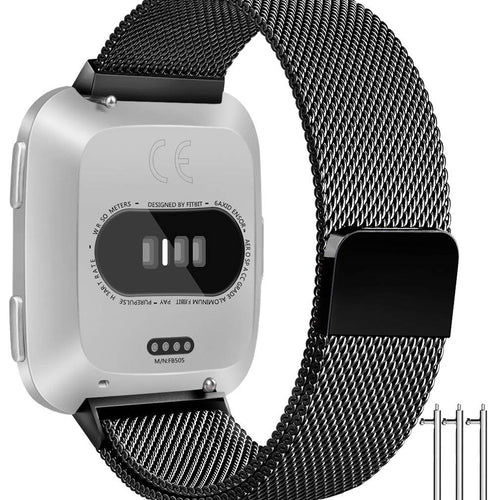 Linxure  Replacement Milanese Fitbit Versa Strap - Small