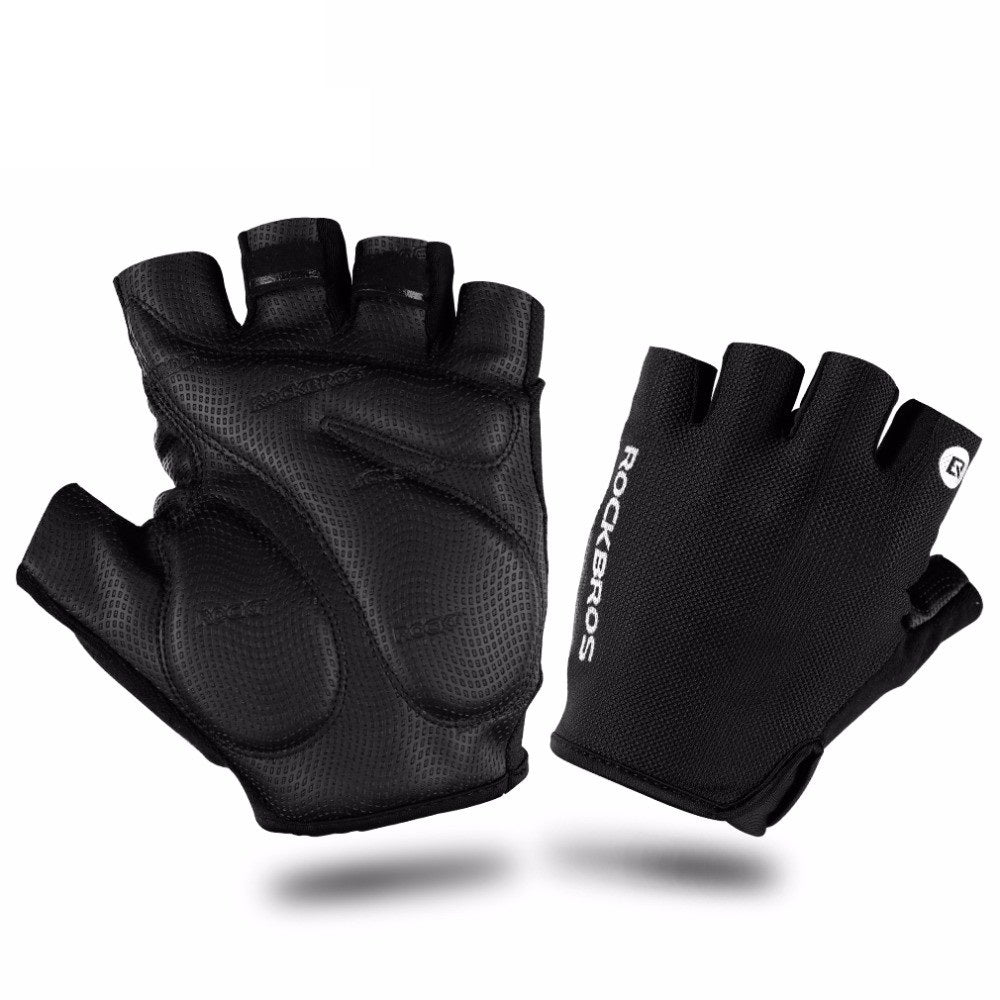 Rockbros Cycling Gloves - Black (Large) | Monthly Madness