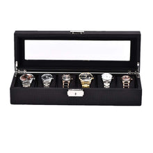 Load image into Gallery viewer, Triton Luxury 6 Slot Luxury Watch Organisers | Monthly Madness