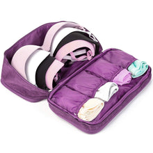 Load image into Gallery viewer, BeautyFX Underwear Toiletries Organiser Travel Bag | Monthly Madness