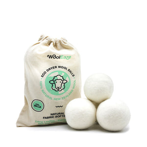 WoolEaze 6 XL Wool Dryer Fabric Softener Balls | Monthly Madness