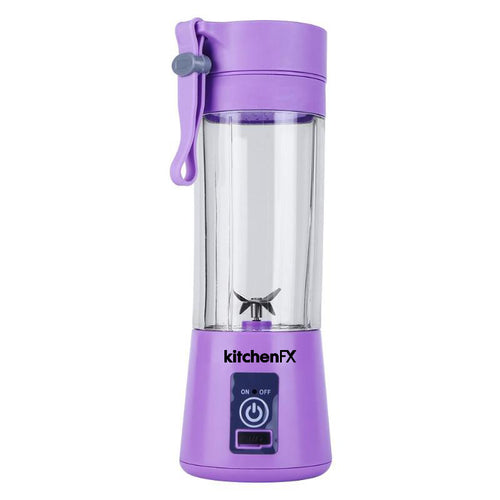 KitchenFX Portable And Rechargeable 175W USB Blender with Strainer