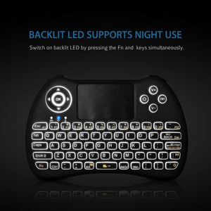 H9+ Backlit Wireless Keyboard | Monthly Madness