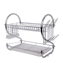 Load image into Gallery viewer, Dish Rack Double Layer - Silver | Monthly Madness