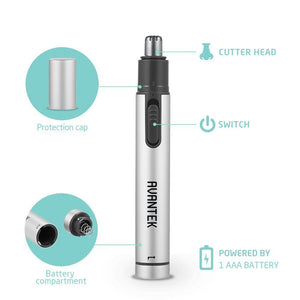 Avantek Nose & Ear Hair Trimmer - Silver | Monthly Madness