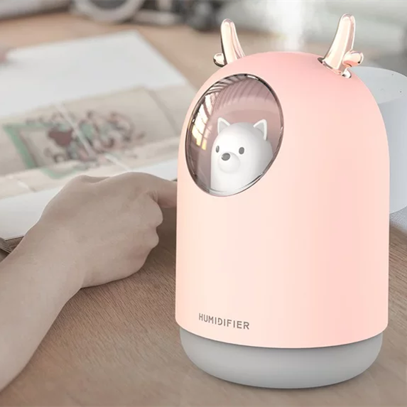 Maisonware Mini Baby Bear Cold Mist Humidifier