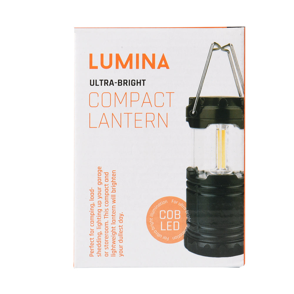 Lumina Mini Water-Resistant Portable Collapsible LED Lantern Torch
