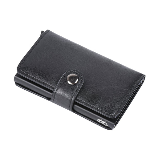 WEAV Leather RFID Pop Up Credit Card Holder and Wallet