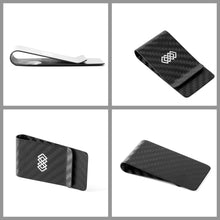 Load image into Gallery viewer, WEAV Carbon Fiber Money Clip | Monthly Madness