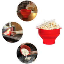 Load image into Gallery viewer, Silicone Popcorn Popper Bowl | Monthly Madness