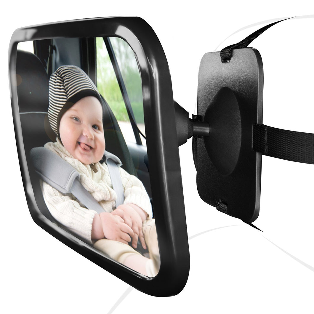 Adjustable Wide Angle Baby Rearview Car Mirror | Monthly Madness