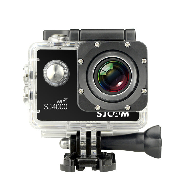 SJCAM SJ4000 Waterproof Action Camera HD 1080P 12MP - Larger 2.0 Inch Screen - Black | Monthly Madness