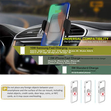 Load image into Gallery viewer, ZeeHoo Wireless 10W Car Charger Phone Mount | Monthly Madness