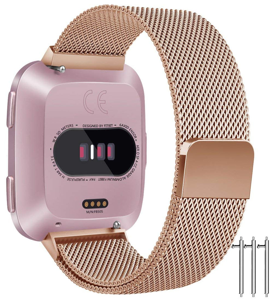 Linxure Milanese Replacement Fitbit Versa Strap - Large | Monthly Madness
