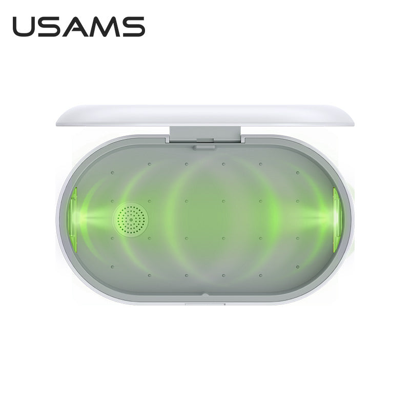 USAMS UV Light Sterilizer Disinfection Box With Wireless Charger | Monthly Madness