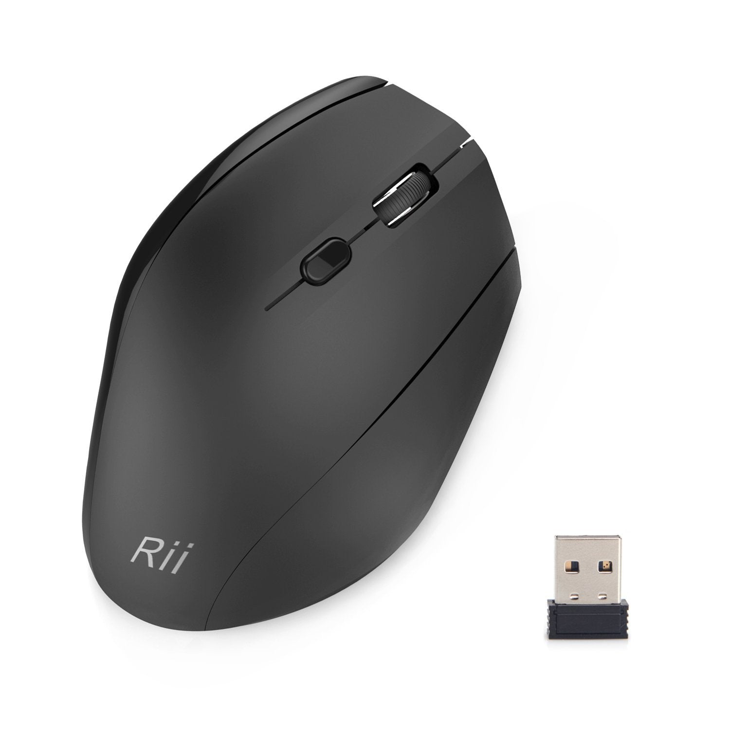 Rii RM300 2.4Ghz Wireless Ergonomic Mouse with 6 Buttons | Monthly Madness