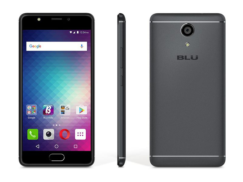 BLU Grand Energy Android Smartphone with Dual SIM - Grey | Monthly Madness