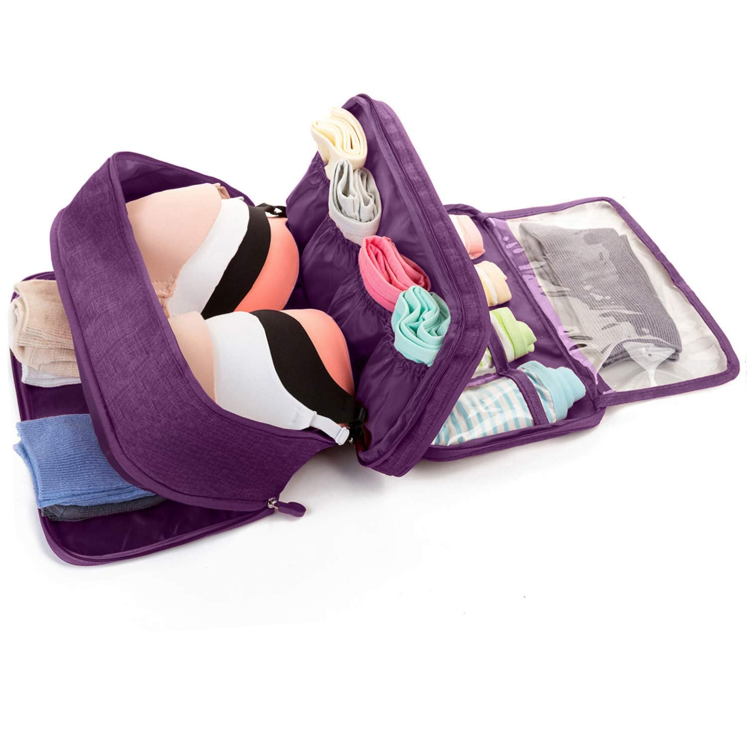 BeautyFX Underwear Toiletries Organiser Travel Bag | Monthly Madness