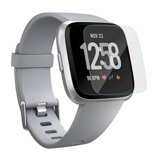 Linxure Pack of 3 Fitbit Versa Scratch Resistant Glass Screen Protectors