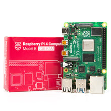 Load image into Gallery viewer, Raspberry Pi 4 Model B with 64GB Micro SD card | Monthly Madness