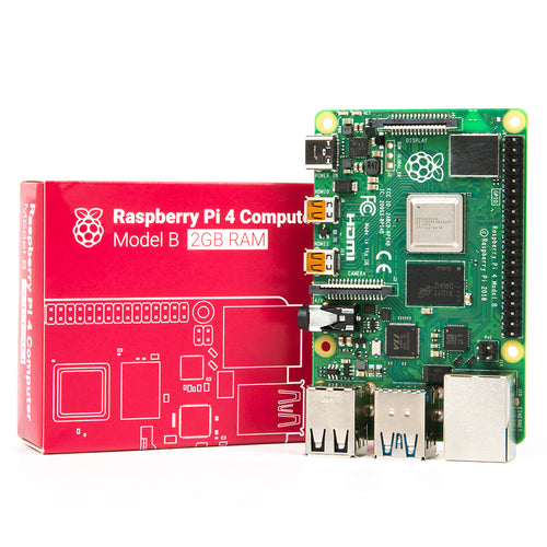 Raspberry Pi 4 Model B with 64GB Micro SD card