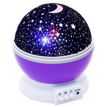 Load image into Gallery viewer, Tinytot Star Galaxy Rotating Night Light | Monthly Madness