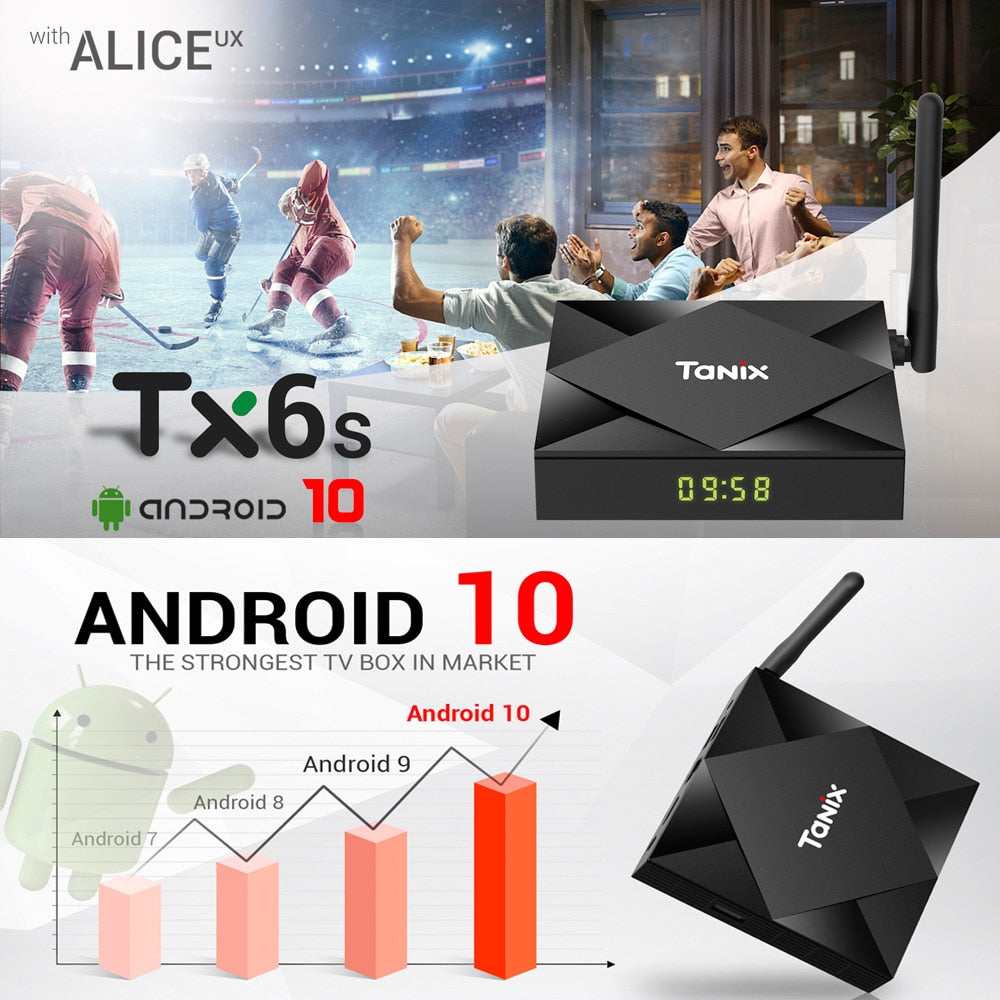 Tanix TX6s Android 10.0 HD 4K TV Box with i8 Pro Keyboard | Monthly Madness