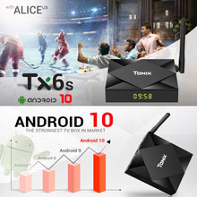 Load image into Gallery viewer, Tanix TX6s Android 10.0 HD 4K TV Box with i8 Pro Keyboard | Monthly Madness