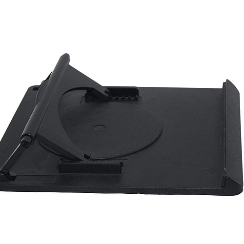 Adjustable Black Swivel Laptop Desk Stand