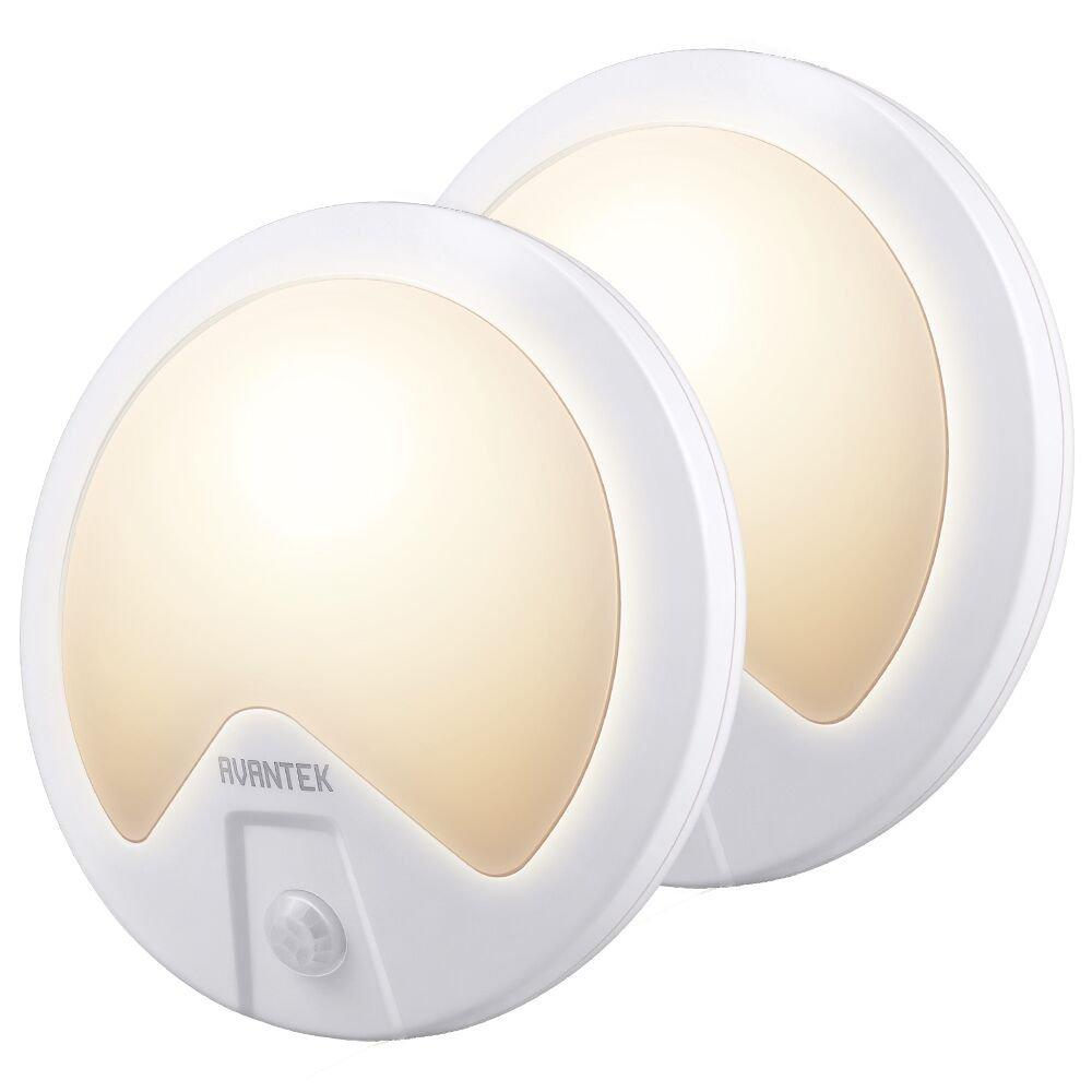 Avantek 2 Pack Motion Sensor Wall Lights | Monthly Madness