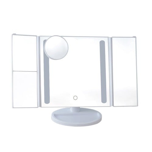 BeautyFX Adjustable LED Makeup Vanity Mirror