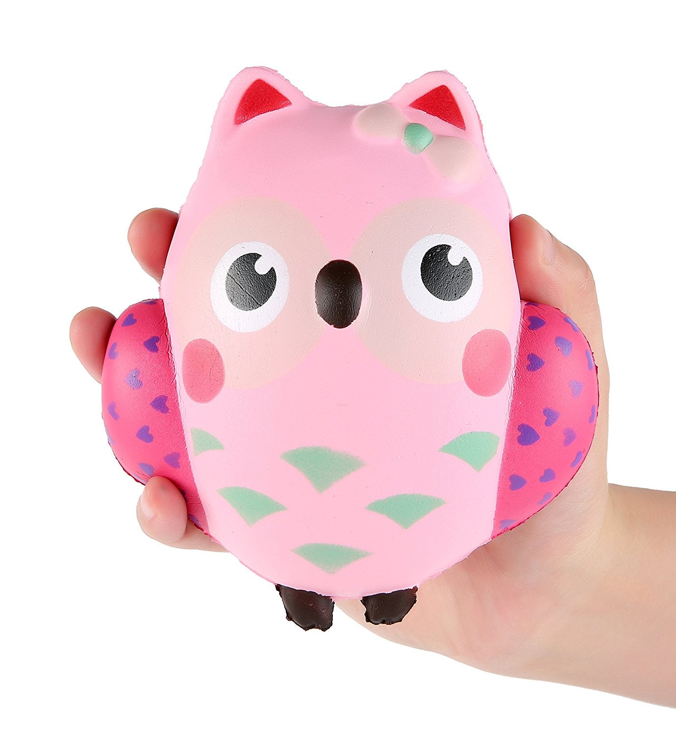 Gigglebread Jumbo Squishy - Owl | Monthly Madness