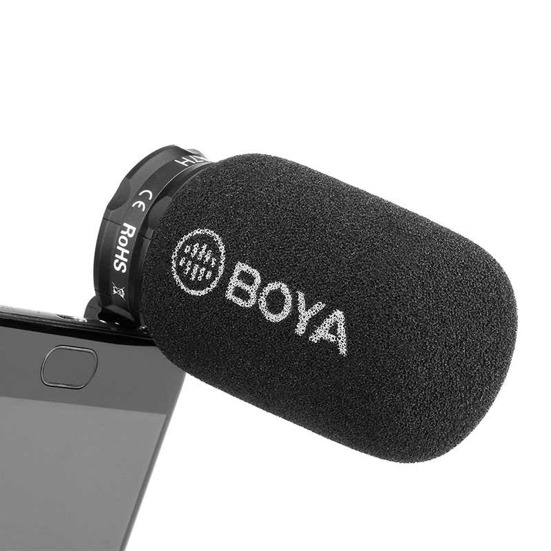 Boya Plug-in Condenser Microphone for Smartphones | Monthly Madness